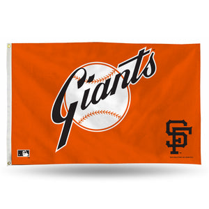 SF GIANTS RETRO BANNER FLAG