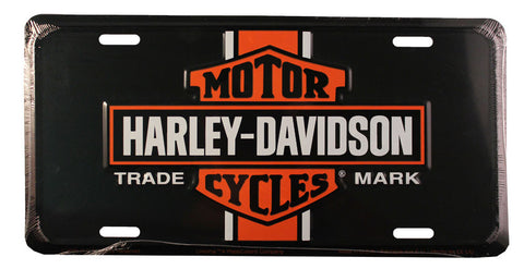 Harley License Plate (Vintage)
