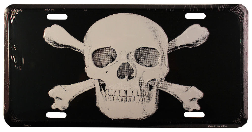Jolly Roger License Plate