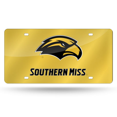 SOUTHERN MISS LASER TAG (BLACK)