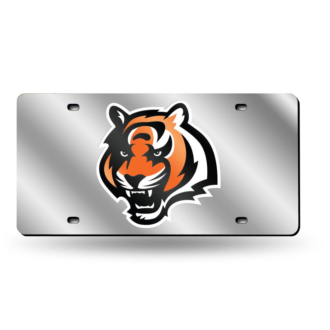 BENGALS LASER TAG (SILVER)