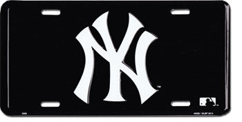 New York Yankees MLB License Plate (Logo)