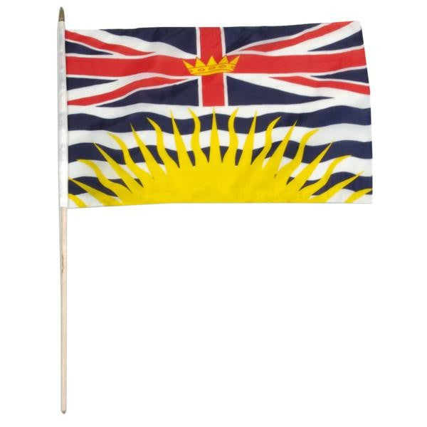 British Columbia 12 x 18 Flag