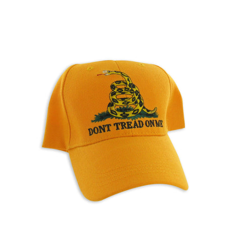 Gadsden Flag Cap - Yellow - Dont Tread On Me Hat
