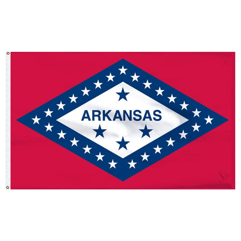 Arkansas 3x5 Flag
