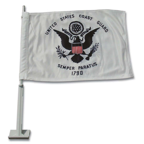 US Coast Guard Car Flag