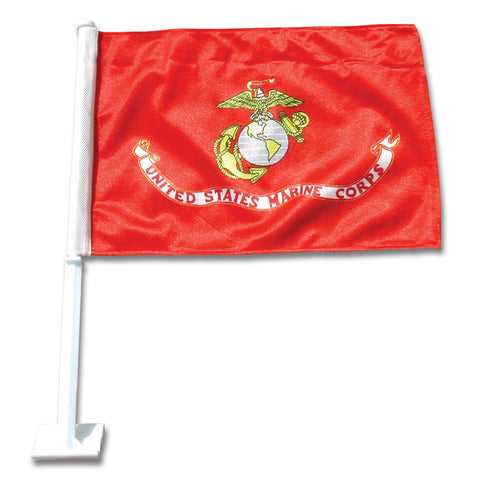Marine Corps Car Flag