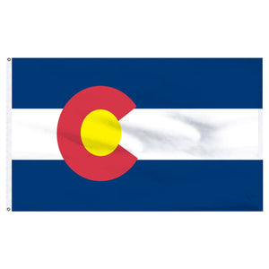 Colorado 3x5 Flag