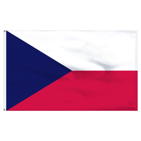 Czech Republic 3 x 5 Flag