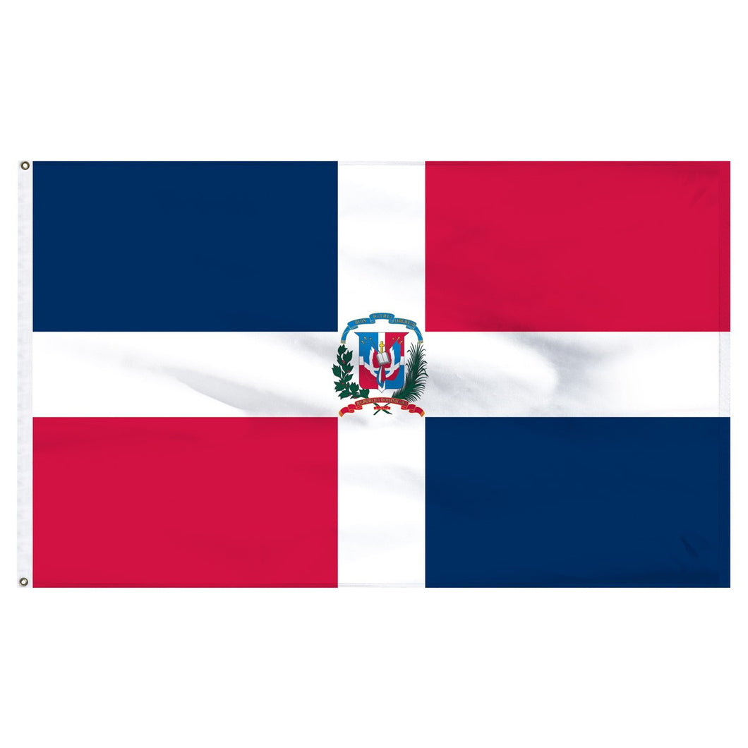 Dominican Republic 3 x 5 Flag