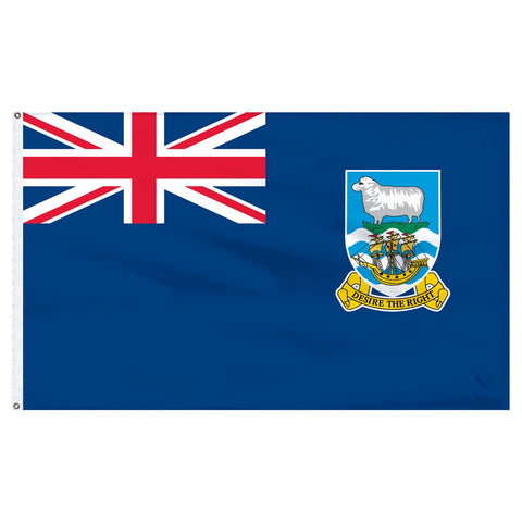 Falkland Islands 3 x 5 Flag