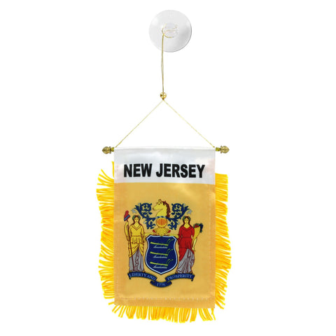 New Jersey Mini Banner