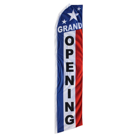 Grand Opening Swooper Flag 3 x 5 Flag