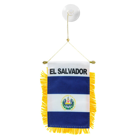 El Salvador Mini Banner