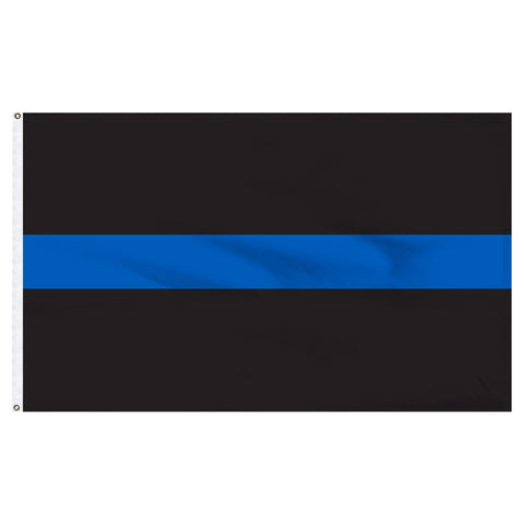 Thin Blue Line 3 x 5 Flag