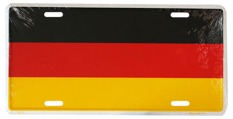 Germany License Plate