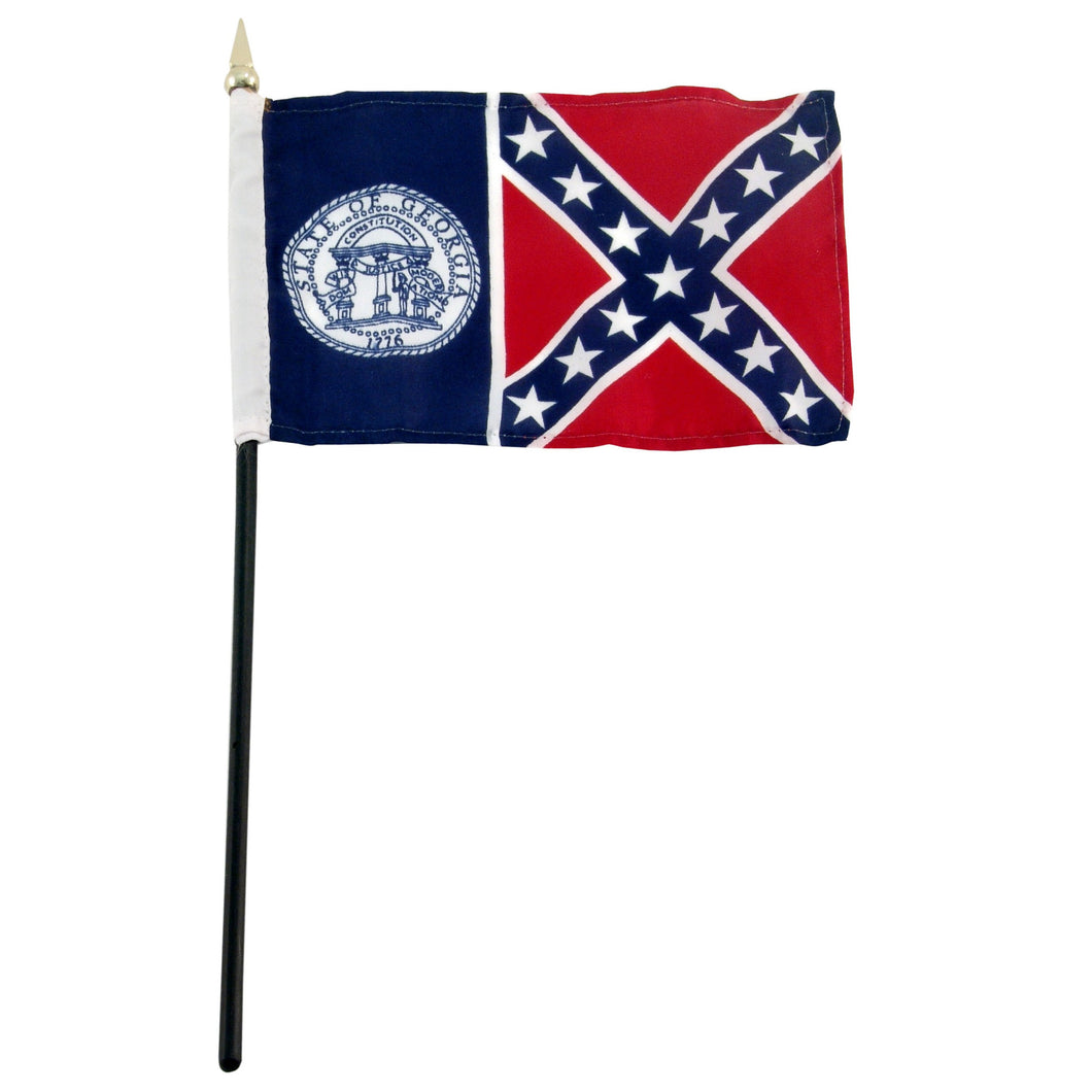 Georgia from 1956 4x6 Flag