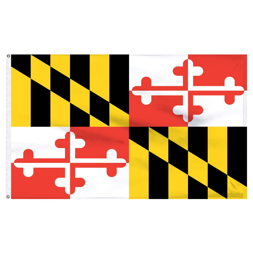 Maryland 3x5 Flag