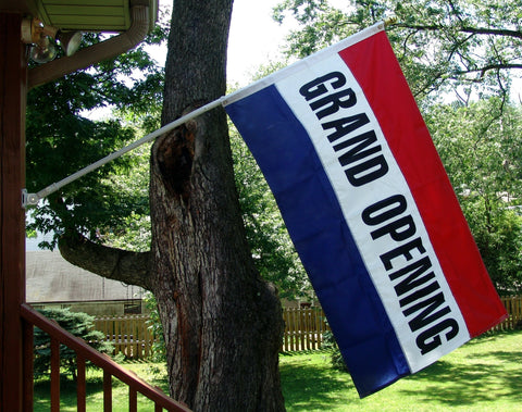Grand Opening Flag 3 x 5 Flag