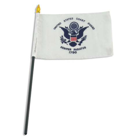 US Coast Guard 4 x 6 Flag