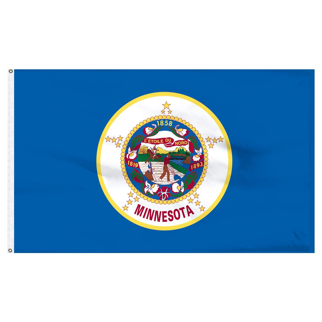 Minnesota 3x5 Flag
