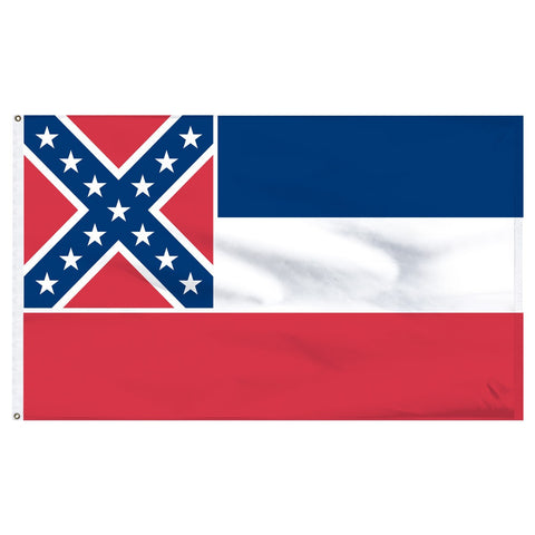 Mississippi 3x5 Flag