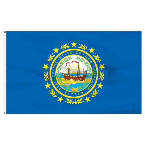 New Hampshire 3x5 Flag