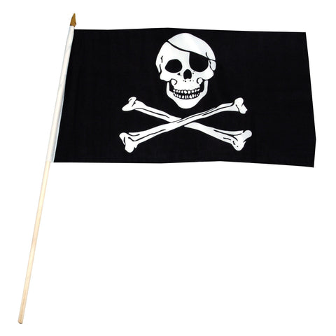 Pirate 12 x 18 Flag (Jolly Roger)