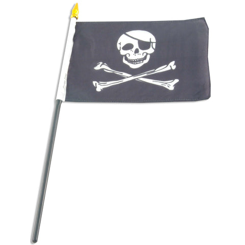 Pirate 4 x 6 Flag (Jolly Roger)