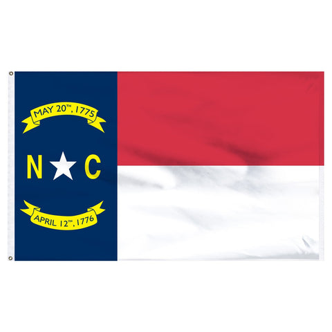 North Carolina 3x5 Flag