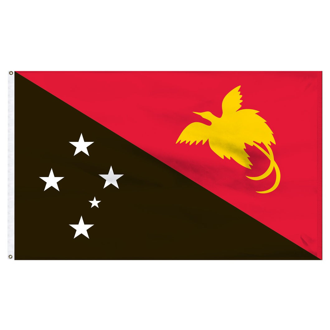 Papua New Guinea 3 x 5 Flag