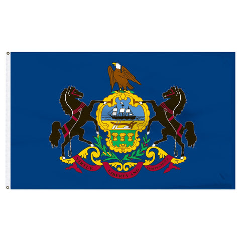 Pennsylvania 3x5 Flag