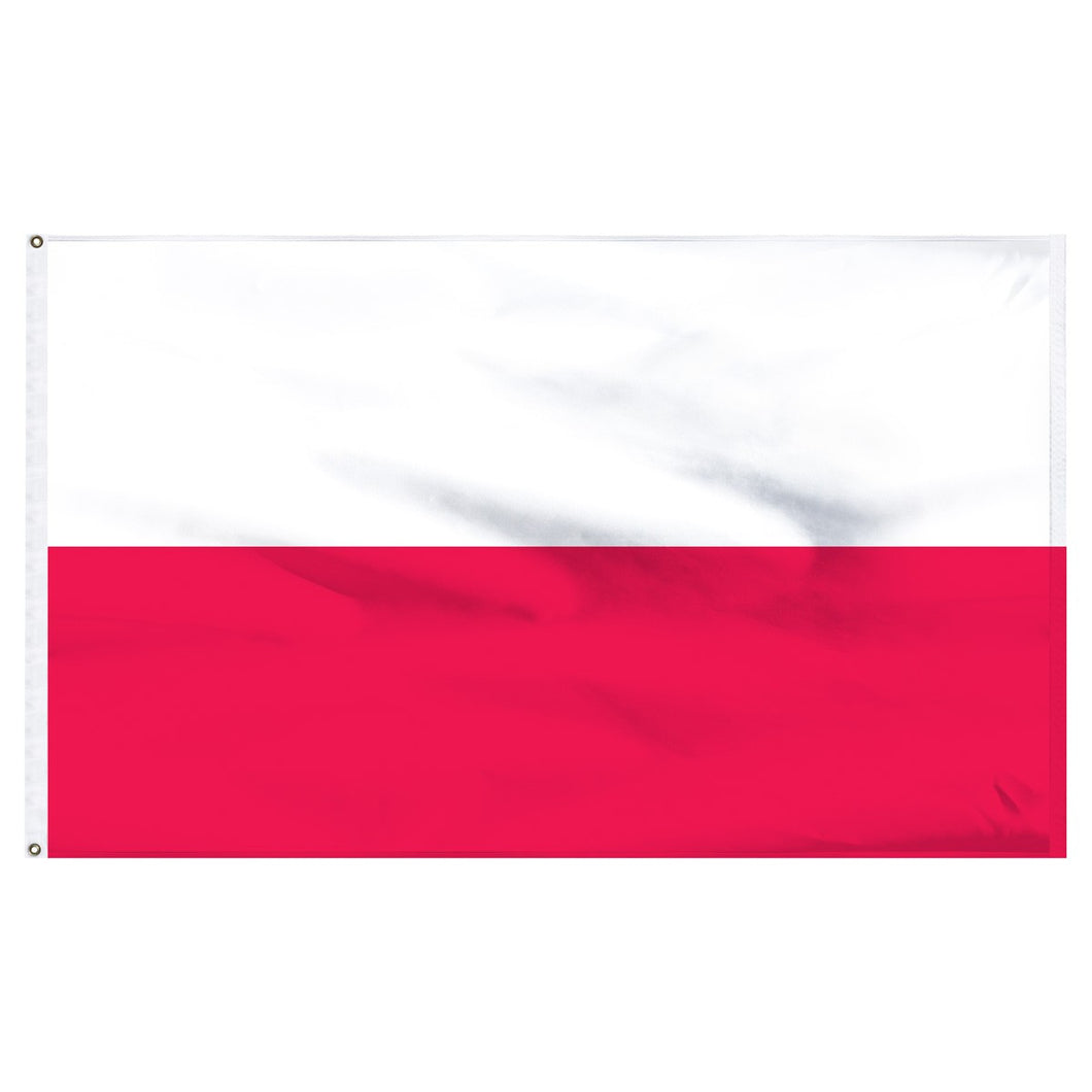 Poland 3 x 5 Flag National