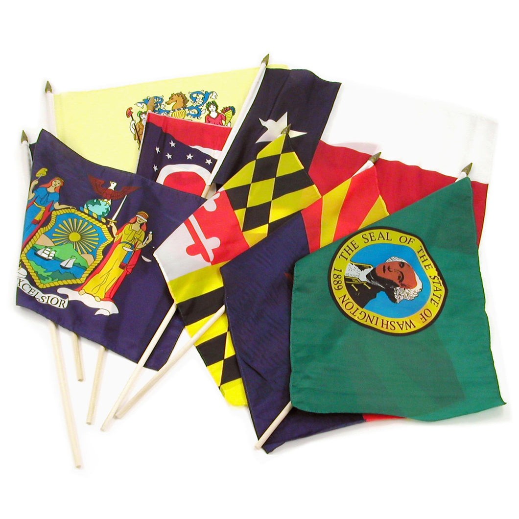 Set of 50 State Flags (Normally $129.99!)