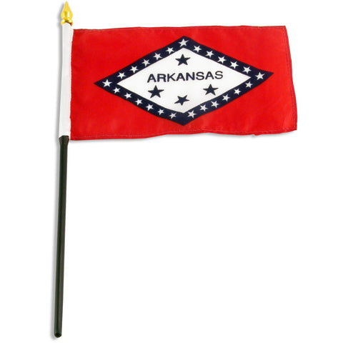 Arkansas 4 x 6 Flag