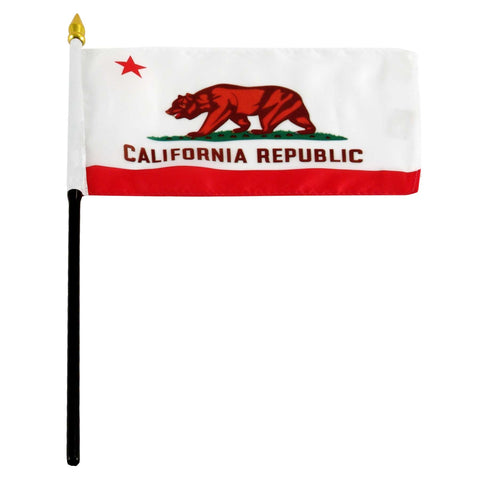 California 4 x 6 Flag