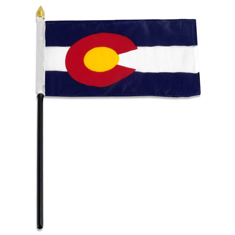Colorado 4 x 6 Flag
