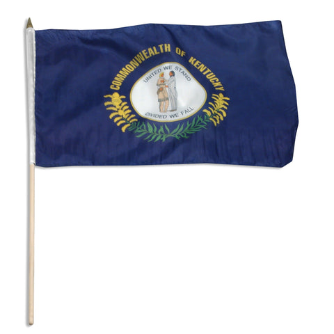 Kentucky 12 x 18 Flag
