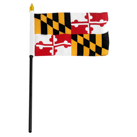 Maryland 4 x 6 Flag