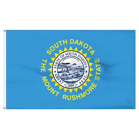 South Dakota 3x5 Flag