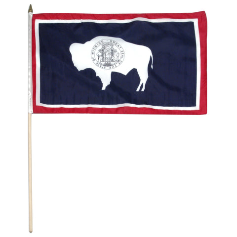 Wyoming 12 x 18 Flag