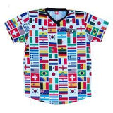 World Cup Soccer Jersey (Plain Sleeves)