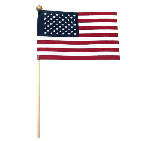American 4x6 Flag with Ball Tip