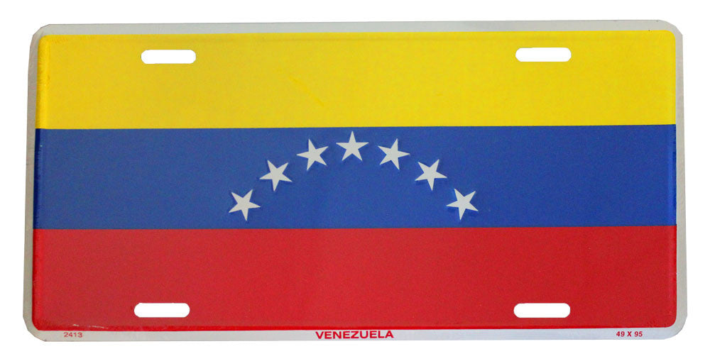 Venezuela (Civil) License Plate (Old)
