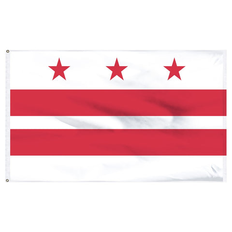 District of Columbia 3x5 Flag Washington D.C.