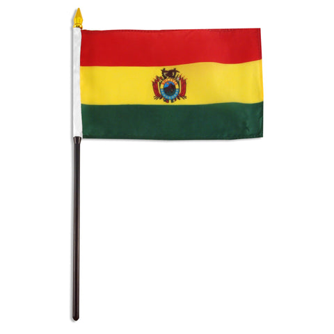 Bolivia 4x6 Flag - With Seal