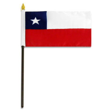 Chile 4x6 Flag