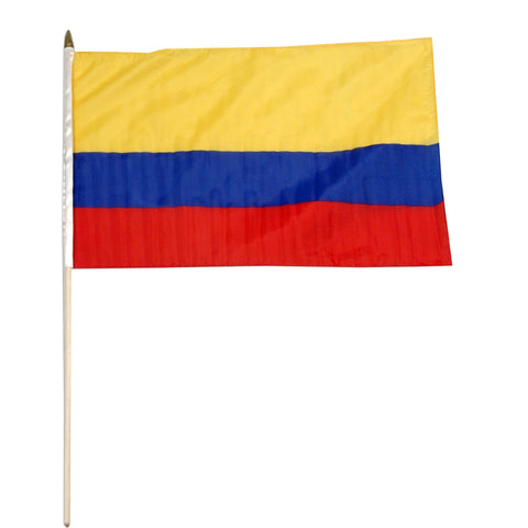Colombia 12 x 18 Flag