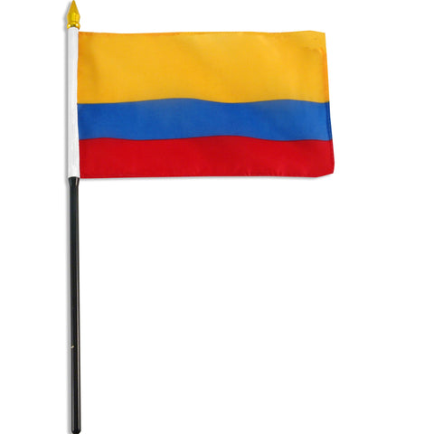 Colombia 4x6 Flag