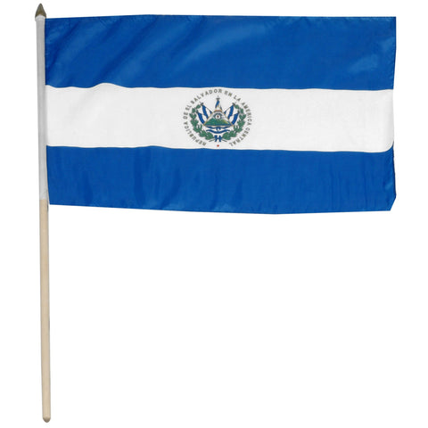El Salvador 12 x 18 Flag